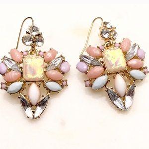 LEE ANGEL-NEIMAN MARCUS opal statement earrings